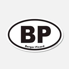 Berger Picard BP Euro 20x12 Oval Wall Peel