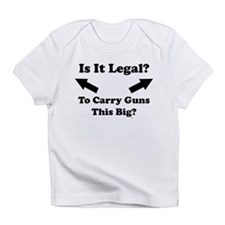 Is It Legal? Creeper Infant T-Shirt