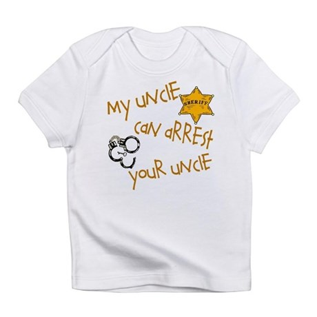 Sheriff- My Uncle Infant T-Shirt