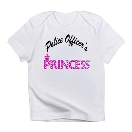 Police Officer's Princess Infant T-Shirt