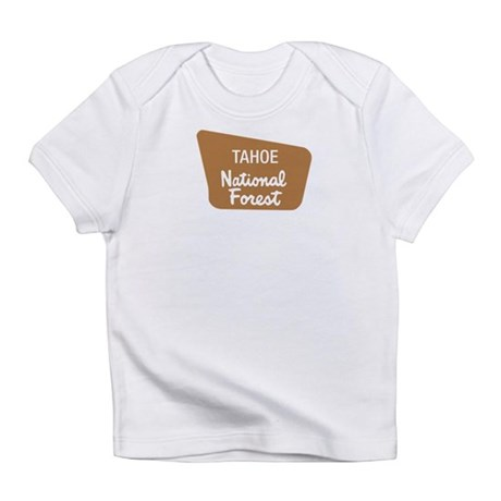 Tahoe National Forest (Sign) Infant T-Shirt