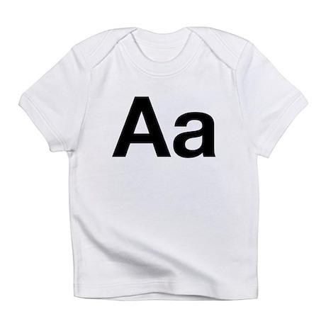 Helvetica Aa Infant T-Shirt