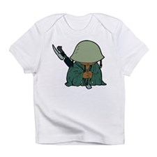 Cute Army dress Infant T-Shirt