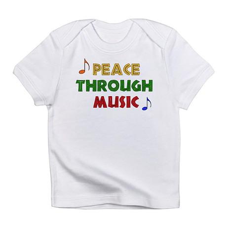 Peace Through Music Infant T-Shirt
