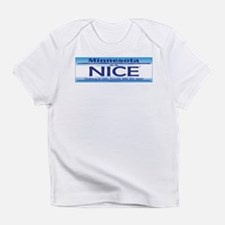 MN NICE License Plate Infant T-Shirt