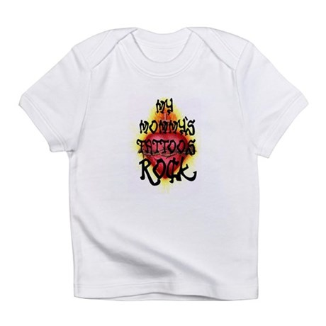 My Mommy's Tattoos Rock! Creeper Infant T-Shirt