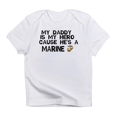 Marines Daddy Creeper Infant T-Shirt