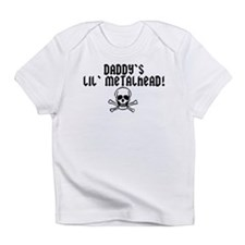 Daddy's Little Metalhead Infant T-Shirt