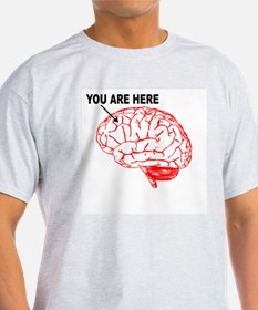 You Are Here! Ash Grey T-Shirt