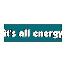 It's All Energy 36x11 Wall Peel