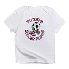 Future Soccer Player Girl Creeper Infant T-Shirt