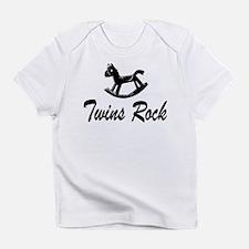 Twins Rock Creeper Infant T-Shirt