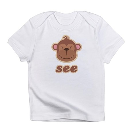 Twin Monkey See Creeper Infant T-Shirt