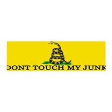 Don't Touch My Junk 36x11 Wall Peel