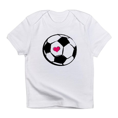 Soccer Heart Infant T-Shirt
