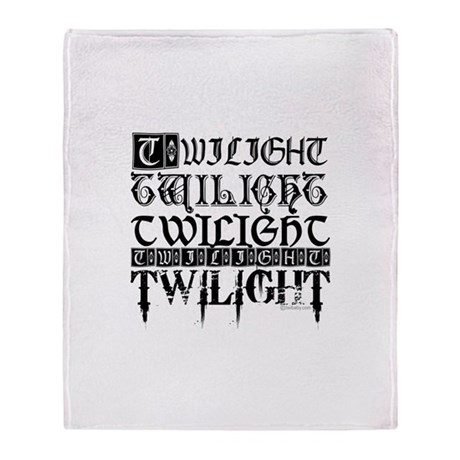 Twilight Sampler by twibaby.com Throw Blanket