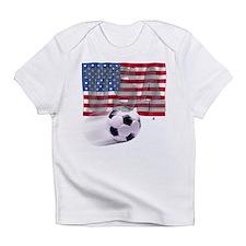 Soccer Flag USA Infant T-Shirt