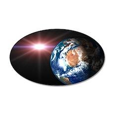Earth 20x12 Oval Wall Peel