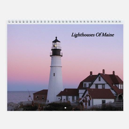 Maine Lighthouse Calendar
