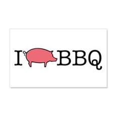 I Cook BBQ 20x12 Wall Peel
