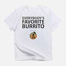 """Everybody's Favorite Burrito"" Creeper Infant T-Sh"