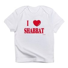 I Love Shabbat Infant T-Shirt