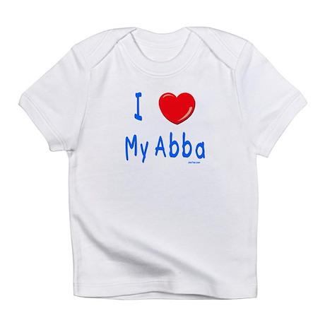 I Love Abba Jewish Kids Infant T-Shirt
