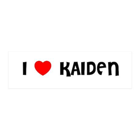 I LOVE KAIDEN 36x11 Wall Peel