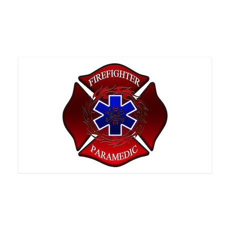 FIREFIGHTER-PARAMEDIC 35x21 Wall Peel