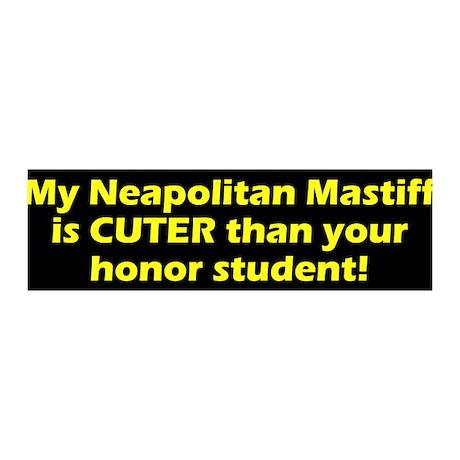 Cuter Neapolitan Mastiff 36x11 Wall Peel