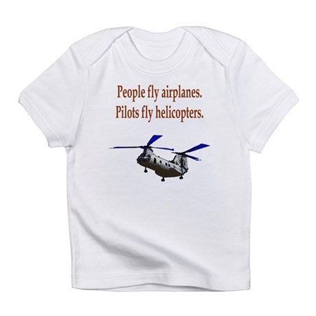 Heli pilots - CH-46 Infant T-Shirt