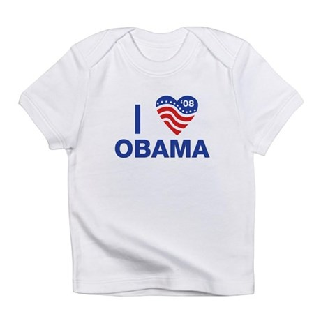 I Heart Obama Infant T-Shirt