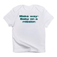 Make Way- Baby on a Mission! Funny Baby Infant T-S