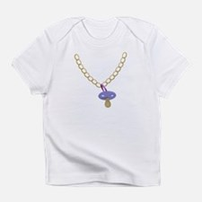 Baby Bling Bling Pacifier Chain Funny Infant T-Shi