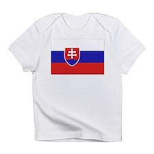 Slovak Flag Infant T-Shirt