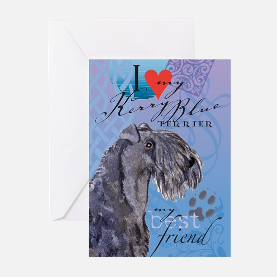 Kerry Blue Greeting Cards (Pk of 10)