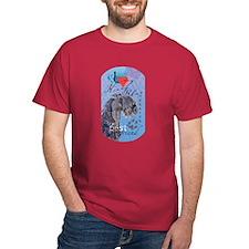 Kerry Blue Black T-Shirt