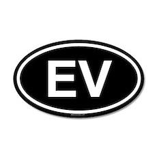 EV 20x12 Oval Wall Peel