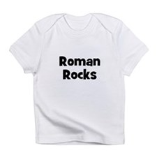 Roman Rocks Creeper Infant T-Shirt