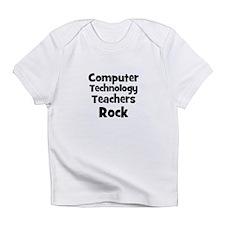 Computer Technology Teachers Infant T-Shirt