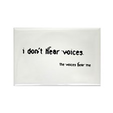 Voices Rectangle Magnet