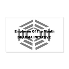 Dharma Initiative Employee of 20x12 Wall Peel
