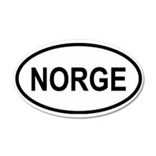 Norge 20x12 Oval Wall Peel