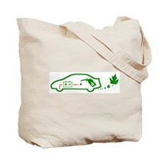 FORGET PLASTIC! RECYCLE! Toyota PRIUS Tote GIFT