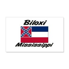 Biloxi Mississippi 20x12 Wall Peel