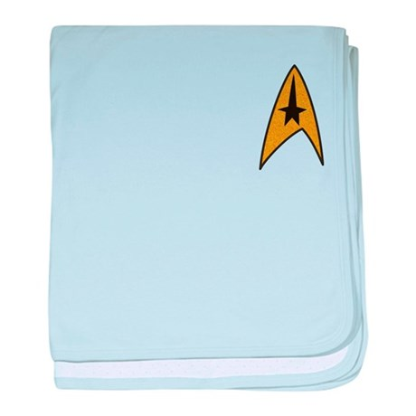 Start Trek TOS Patch-Style Lo baby blanket