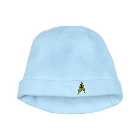 Start Trek TOS Patch-Style Lo baby hat