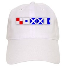 USMMA Signal Flags 2 Baseball Cap