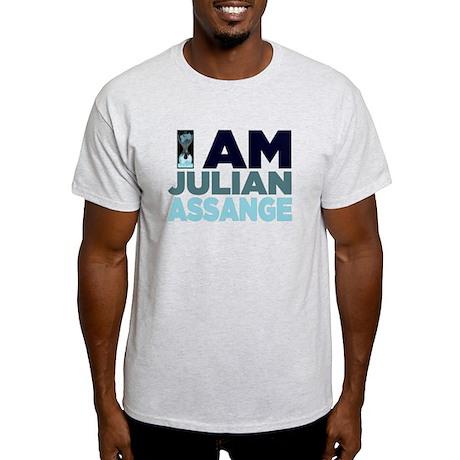 I Am Julian Assange Light T-Shirt