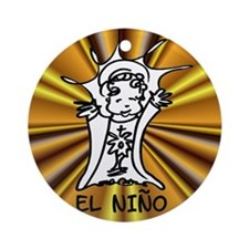 El Nino Ornament (Round)